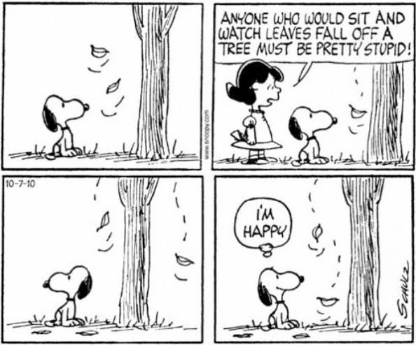 Happy Snoopy