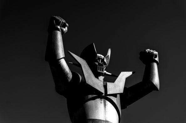 Mazinger Z statue in Tarragona (Catalonia, Spain) Copyright Markos Giannopoulos